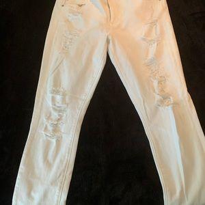 White Express Jeans Leggings - MIA Mid Rise
